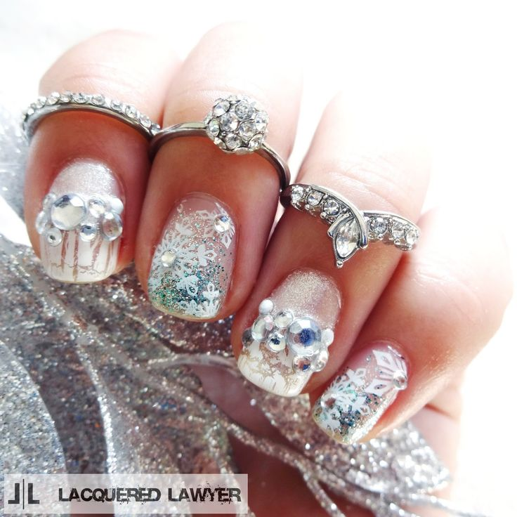 25 best Glitter and Confetti Nail Art images on Pinterest   Confetti ...