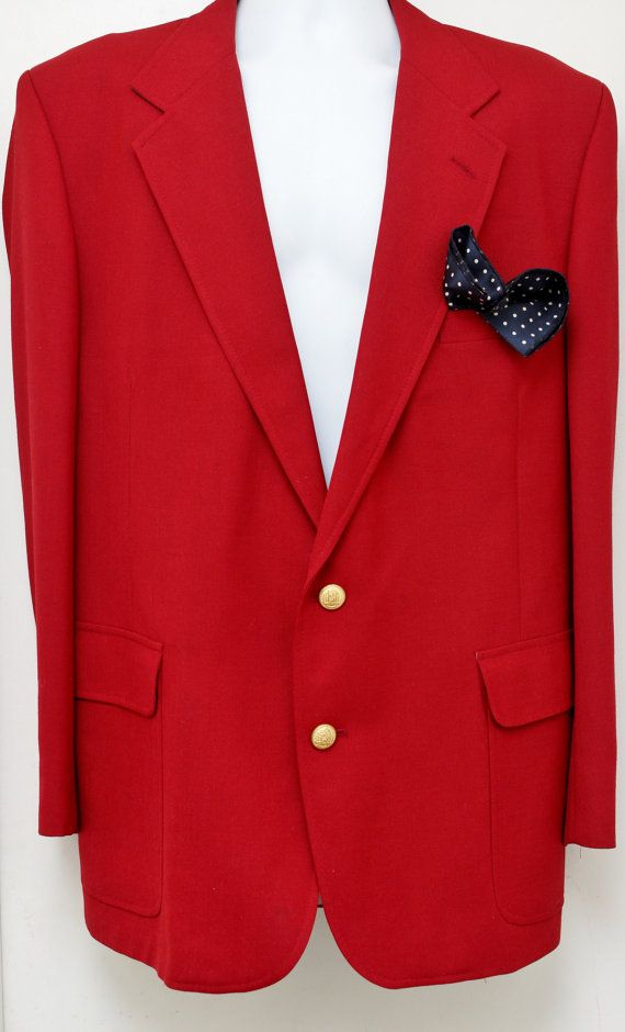 Rare 80's Vintage HARDWICK CLOTHES Red Any by StandoutVintageStore, $88.00