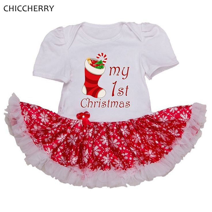 >> Click to Buy << My First Christmas Baby Girls Red Christmas Dress Lace Tutu Vestido Infantil Menina Cute Toddler Girl Clothes Infant Clothing #Affiliate