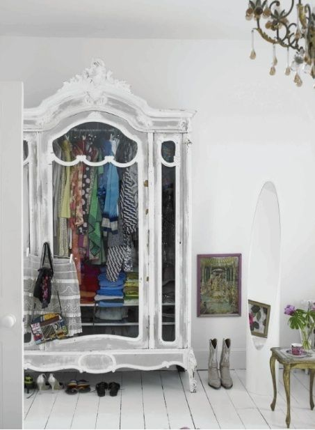 Wardrobe Armoires, Storage Solution For The Closet-less (9 Winning Examples And Where To Buy)