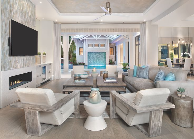 458 best images about living dining room combo on for Pool design concepts sarasota