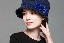 cappello della benna della moda 2015 inverno per la decorazione le donne fiore