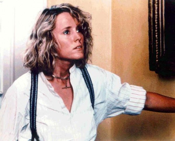 "Some days require such a style. Love the necklace, too. Mary Stuart Masterson in ""Fried Green Tomatoes."" Tawanda!"