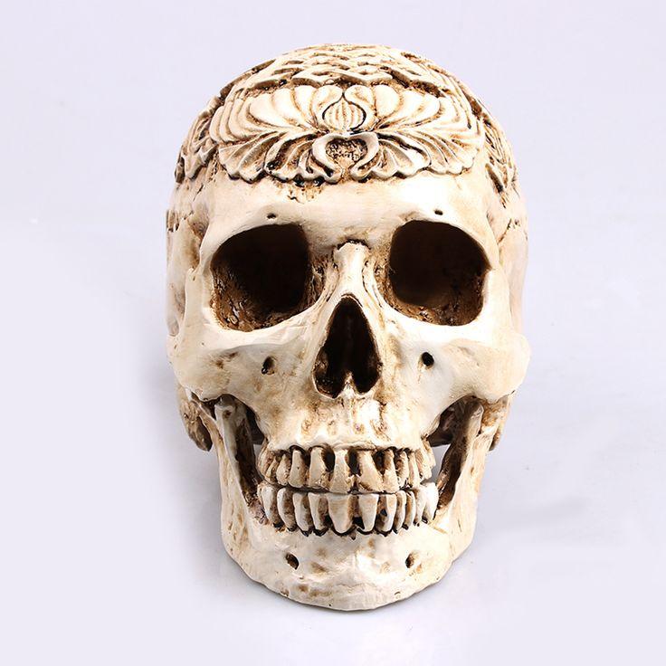 >> Click to Buy <<  Egypt Skull Model Resin Handicraft Humen Skulls For Decoration Life Size 1:1 Skeleton #Affiliate