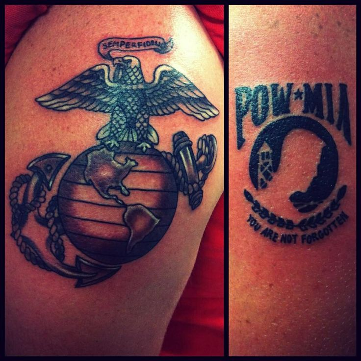 tattoo by jojo miller pow mia dynamic ink eternal ink eagle usa tattoos tattoo ideas. Black Bedroom Furniture Sets. Home Design Ideas