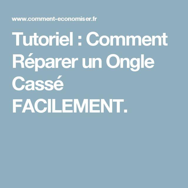 Tutoriel : Comment Réparer un Ongle Cassé FACILEMENT.