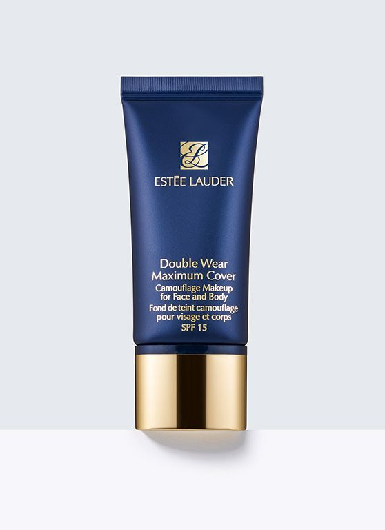 Estée Lauder Double Wear Maximum Cover Camouflage Makeup for Face and Body with SPF 15. This received a great review from beauty blogger/vlogger emilynoel83. It covers her melasma (dark spots) perfectly. #foundation #fullcoveragefoundation
