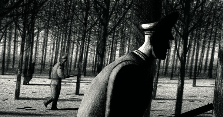 Lorenzo Mattotti fears of the dark