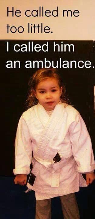 Though she be little, she be fierce.