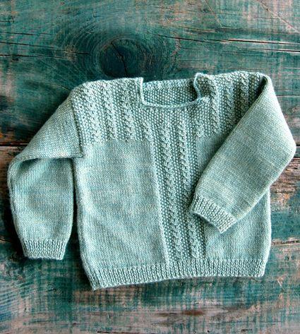 Patrón Gratuito de Kelbourne Ropa de lana y la Compañía de fibra: El Pullover Fiddlehead - tejer a ganchillo Manualidades Costura Patrones e ideas! - La abeja puntilla