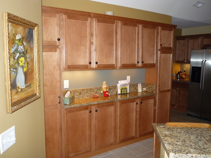 Canterbury Kitchen With Extra Bank Of Cabinets. Spring Valley Maple In  Toffee Color. | Canterbury | Pinterest | Canterbury And Kitchens