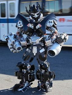 Transformers Costumes Made from Household Items   Oddity Central - Collecting Oddities