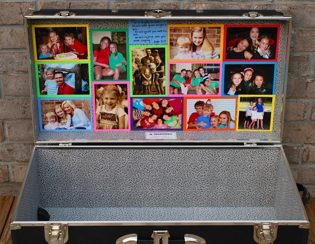 Decorate a Camp Trunk