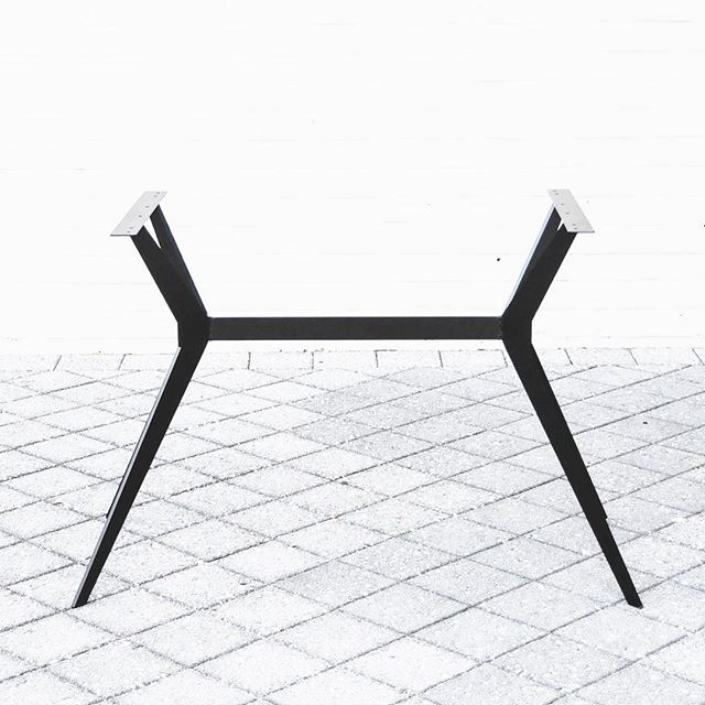 Iron Butterfly, front on. Matching bench seat currently in development. Order yours via our website, shop in store, or email contact@industriale.com.au . . . . . #shopindustriale #beaufortstreet #inglewoodperth #minimalism #minimalistfurniture #industrialmaterials #furnituredesign #designstudio #perthcreatives #customfurniture #handmadefurniture #perthdesign #ironbutterfly #diningtablebase #steel #weldit #minimalistinterior