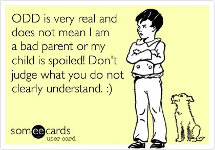 I am pretty sure my mother disciplined O.D.D., A.D.D., and A.D.H.D. right out of our systems- and, yes, it DOES make you a shitty parent.