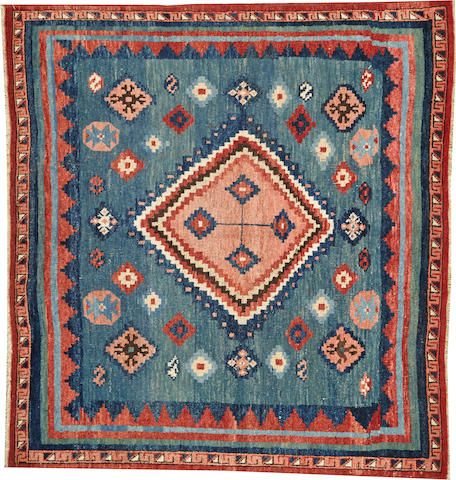 Gabbeh rug  size approximately 4ft. 2in. x 4ft. 7in.