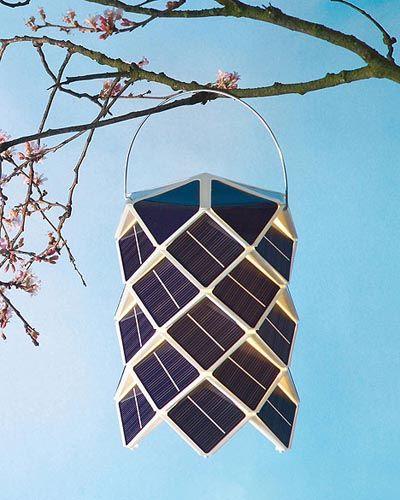 Lámparas solares de diseño - DecoraHOY