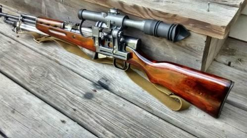 SKS with Russian...