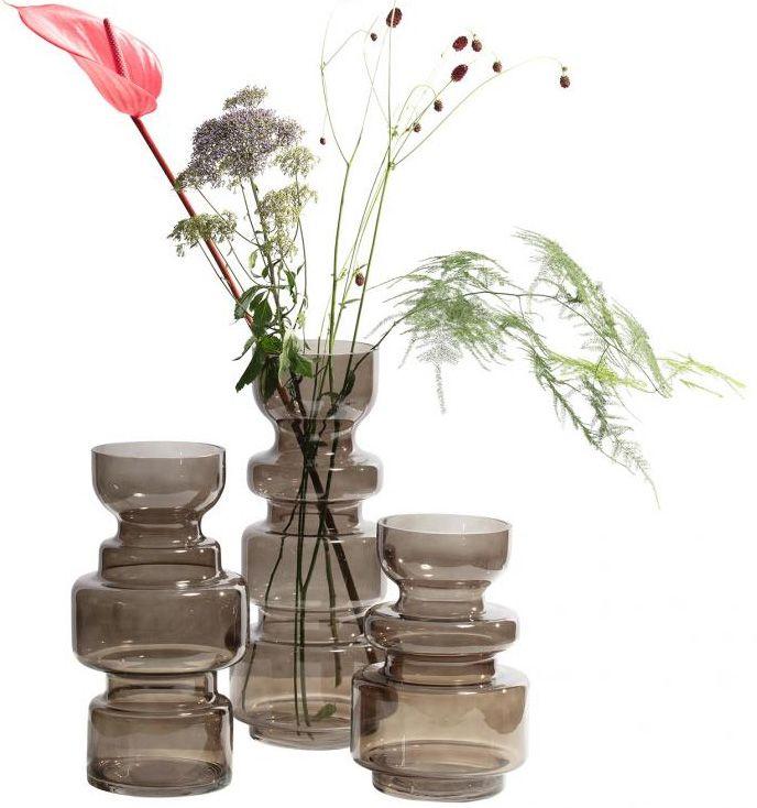 Glazen Vaas Met Bollen Als Decoratie 100 Woongeluk Glazen Vaas Vaas Decoratie