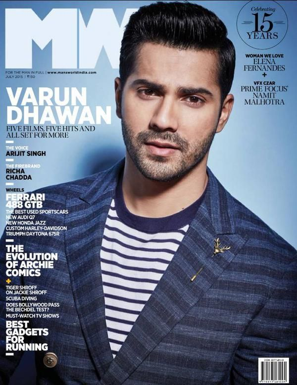 Bollywood hunk, Varun Dhawan is the man of the moment as he is seen styling up and posing for the MW Magazine Photo Shoot for the July 2015 issue. Varun is one actor who had …