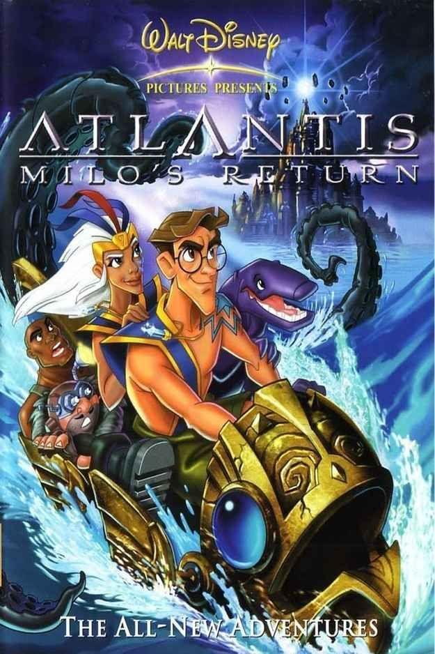Atlantis: Milo's Return | An Authoritative Ranking Of Disney Sequels