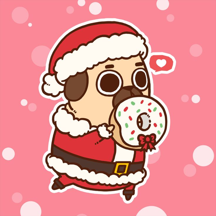Merry Christmas and Happy Holidays Everyone! [[MORE]]I want to take this time to thank each and everyone of you for your love, support, and patience in my amazing journey with Puglie. It's been an overwhelmingly heartwarming and supremely busy two...