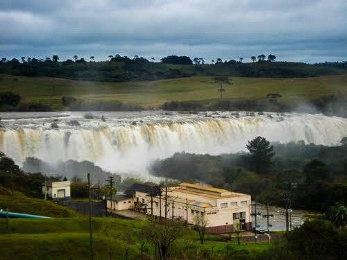 Cachoeira do Cerro Pelado, Salto do Rio Caveiras, Lages, Santa Catarina, Brasil