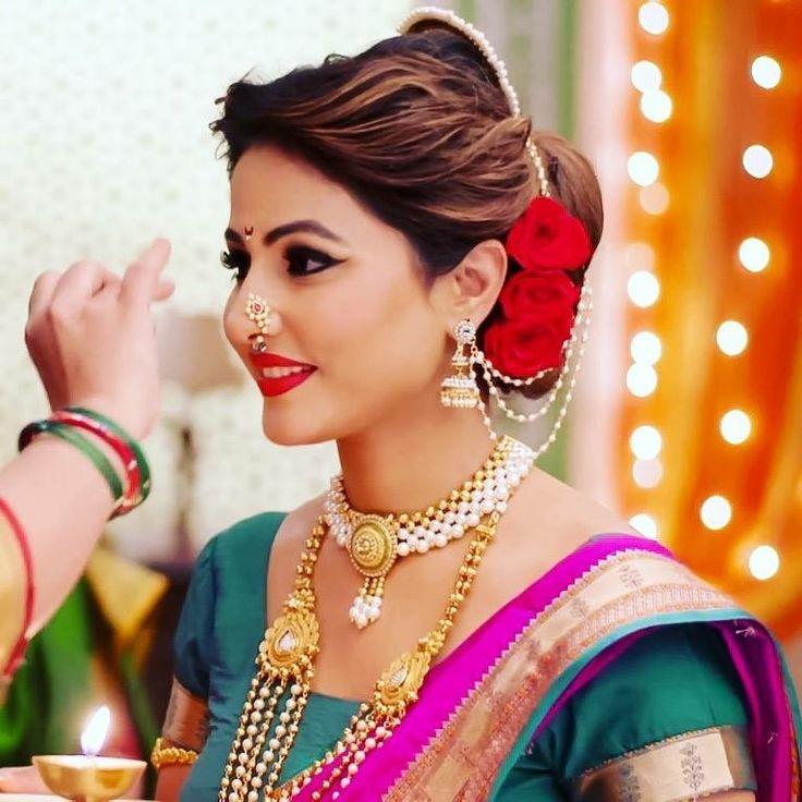 Hina Khan | Maharashtrian Makeup Look - Mugeek Vidalondon
