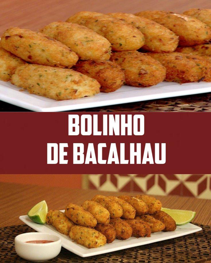 BOLINHO DE BACALHAU