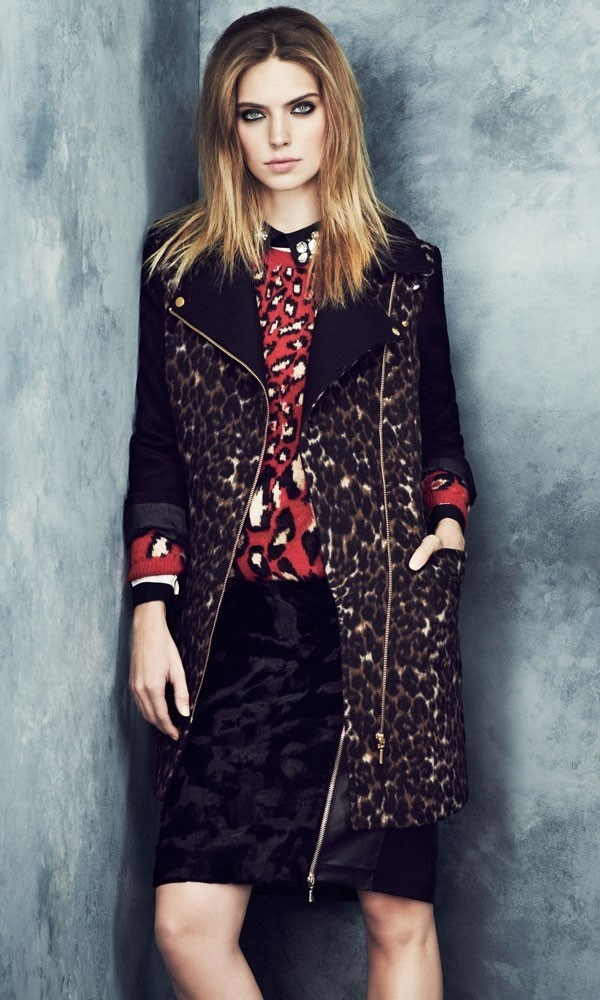 Marks & Spencer A/W '13 look book - print crazy!