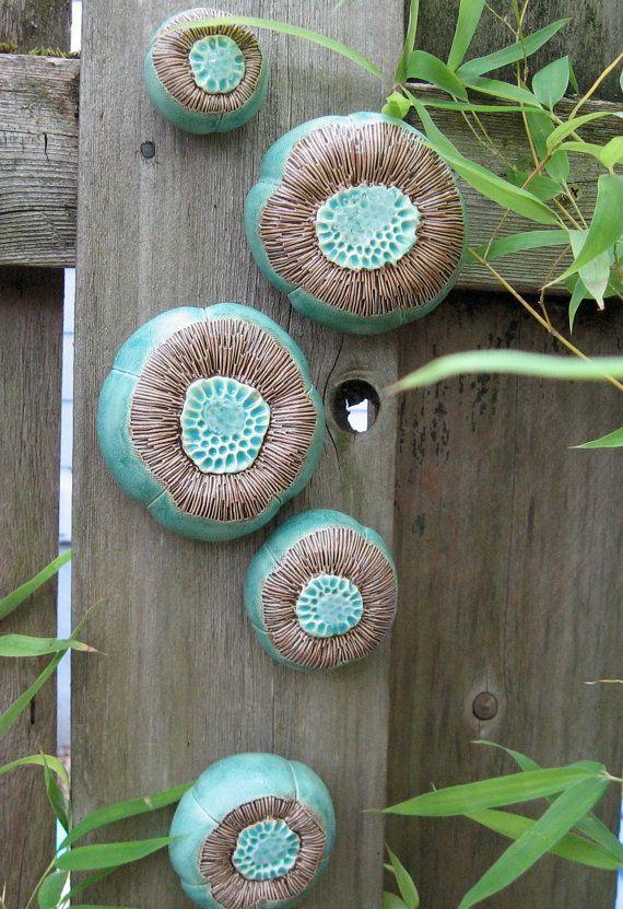 Sous le paradis de la mer ! Un bassin de marée pour votre mur en turquoise et marron aller avec nimporte quel décor.  Fabriqué à partir