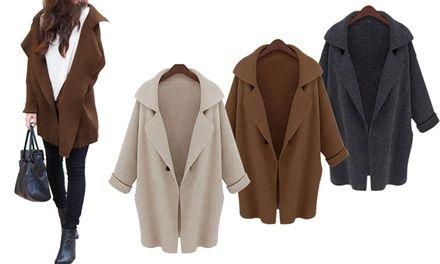 Per il look moderno e sempre alla moda, nella misura oversize