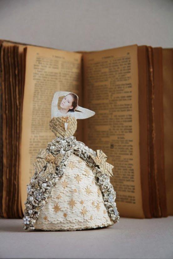 Projekti: Unelmien mekko paperista