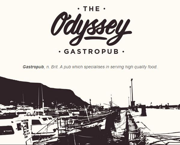 The Odyssey - Gastropub - Cape Town :: Home I want to eat it all.
