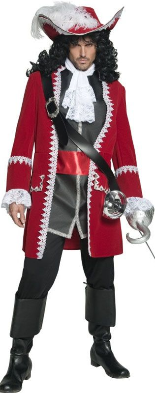 Mens Captain Hook Costume inspiration