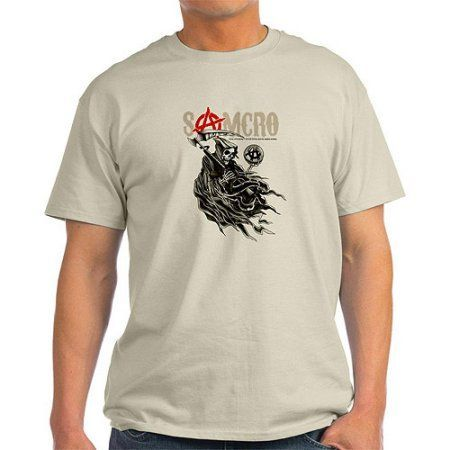 CafePress Mens Sons of Anarchy Samcro T-Shirt, Men's, Size: Medium, Beige https://www.fanprint.com/stores/nascar-?ref=5750