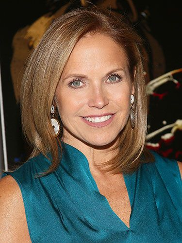 Katie Couric Fashion Amp Style Pinterest Katie Couric Medium Layered Hair And Hair Style