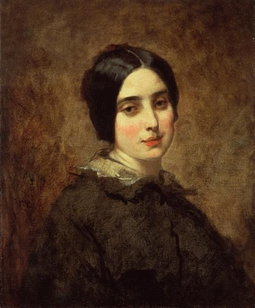 Thomas Couture - Portrait of Zélie Courbet | Flickr - Photo Sharing!