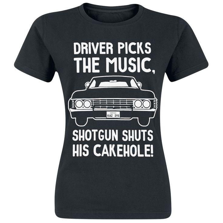 Supernatural, Driver Picks The Music, Shotgun Shuts His Cakehole!