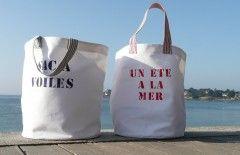 Le sac à voiles pour les maisons de bord de mer