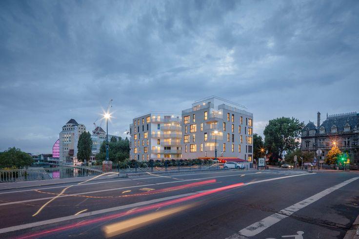 AAT – Atelier d'Architecture Téqui – Immeuble à Pantin (93) | 11H45