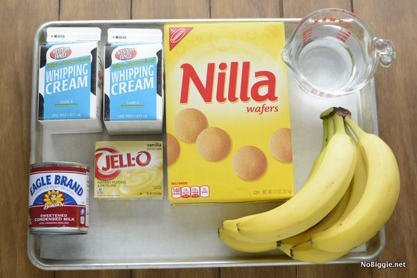 banana pudding ingredients | NoBiggie.net