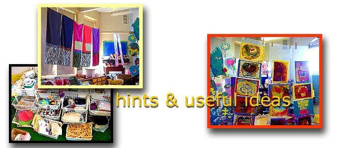 Visual arts hints and ideas