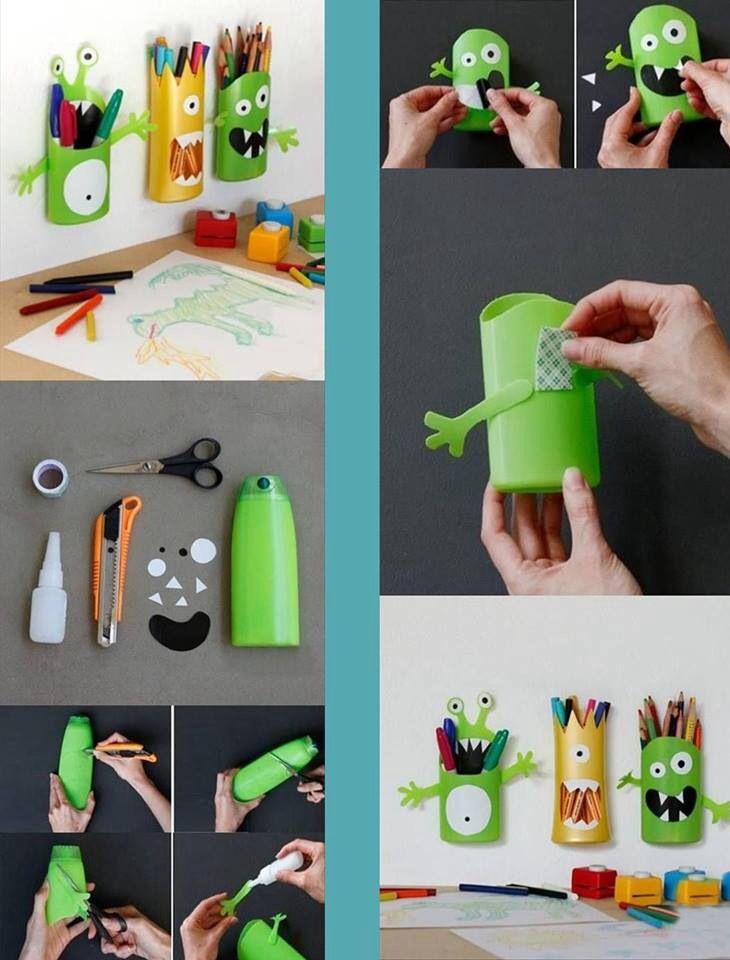 28 best basteln mit alltagsmaterialien images on pinterest crafts for kids infant crafts and. Black Bedroom Furniture Sets. Home Design Ideas