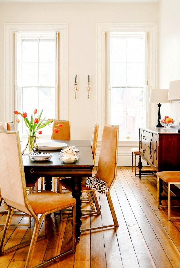 Tour a Stately and Stylish Historic Michigan Home via @mydomaine