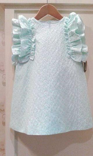 Vestido pique agua, Pizpireta moda infantil. P-v 2015