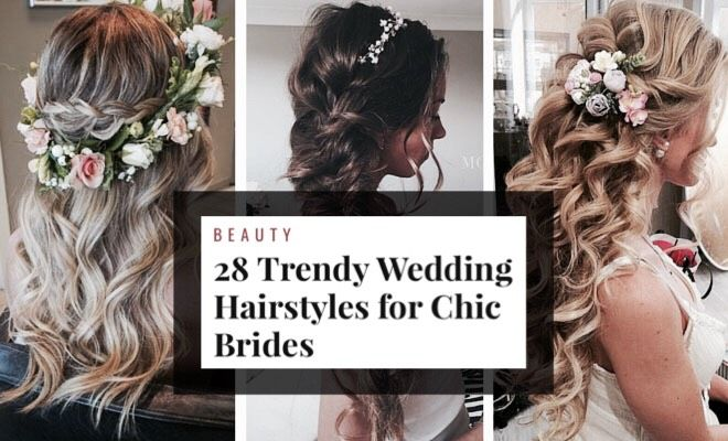 My latest Musely find blew my mind: 28 Gorgeous Hairstyles for Brides!