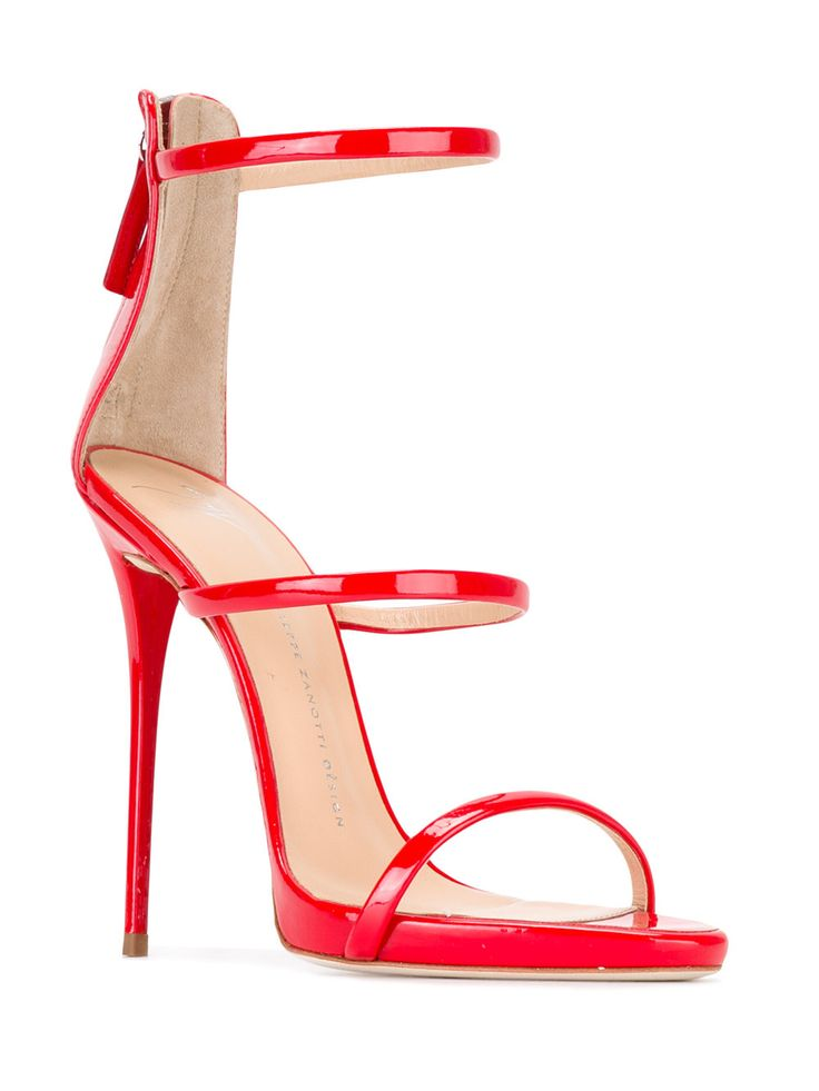 Giuseppe Zanotti Design Strappy Stiletoo Sandals - Farfetch