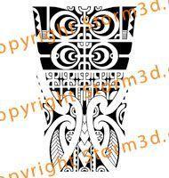 forearm-tattoos-marquesan-style-mix-maori-koru-patterns #marquesantattoospatterns