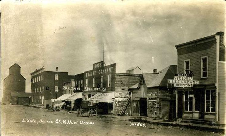 Yellow Grass, SK - Vintage Saskatchewan - Photos - SaskPhotos.ca